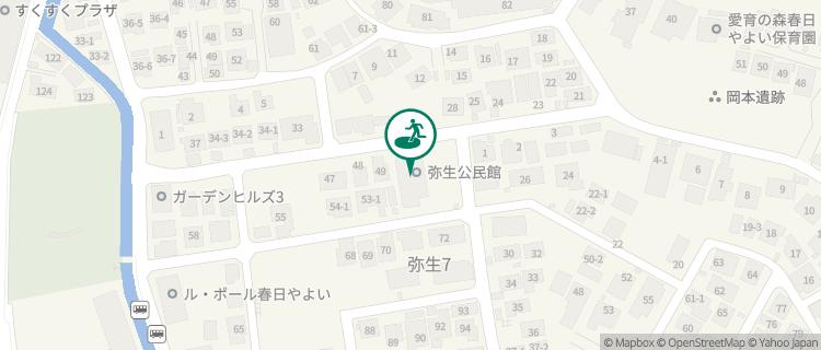 弥生コミュニティ供用施設 福岡県春日市の避難場所 - Yahoo!天気・災害