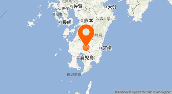 霧島山の地図情報