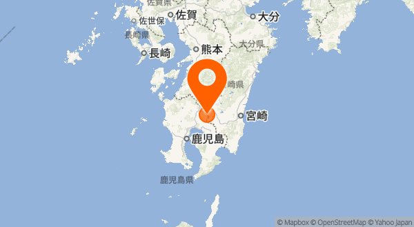 霧島山(大幡池)の地図情報