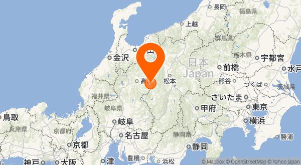 乗鞍岳の地図情報