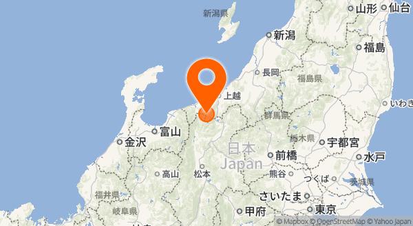 新潟焼山の地図情報