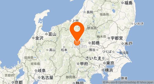 浅間山の地図情報