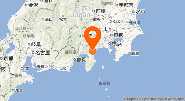 箱根山の地図情報