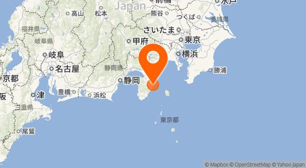 伊豆東部火山群の地図情報