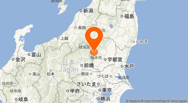 男体山の地図情報