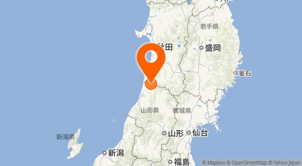 鳥海山の地図情報