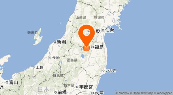 吾妻山の地図情報