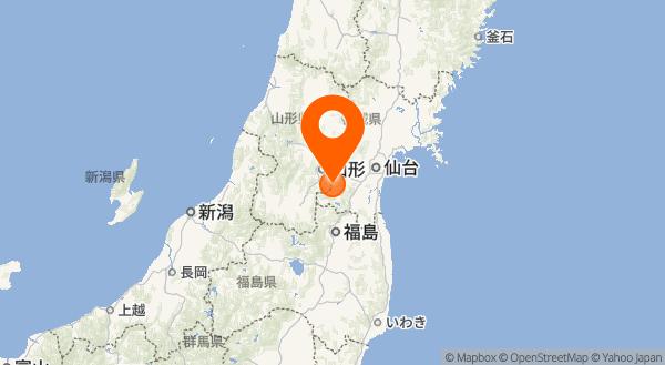 蔵王山の地図情報