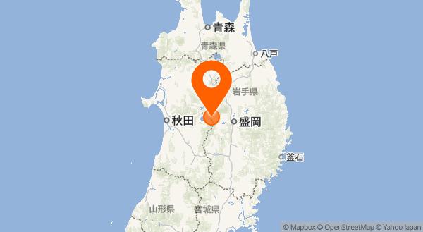 秋田駒ヶ岳の地図情報