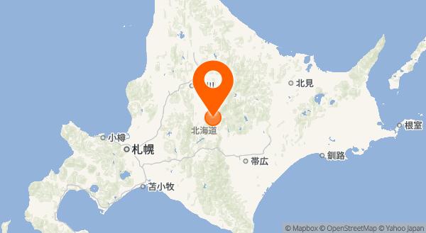 十勝岳の地図情報
